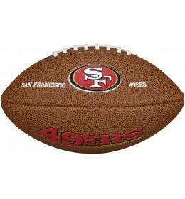 Lopta za ragbi NLF San Francisko 49ers Mini WTF1533XBSF