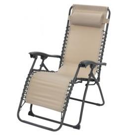 Relaks-stolica HALDE Svetlo siva