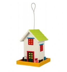 Šarena drvena kućica za ptice Trixie