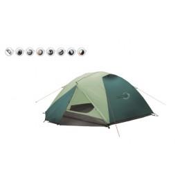 Šator za tri osobe Easy Camp Equinox 300 zeleni