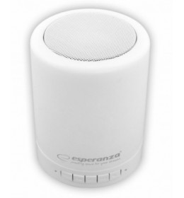 Bluetooth zvučnik Esperanza  sa RGB LED svetlom koje menja boje EP131