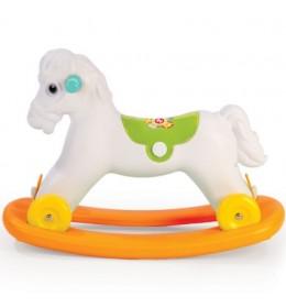 Njihalica beli konj