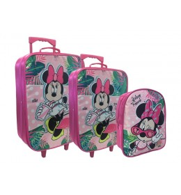 Set 2 kofera i ranac Minnie Mouse Tropi