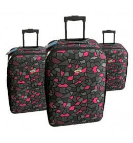 Set 3 kofera za putovanja Sazio Vegas Lines