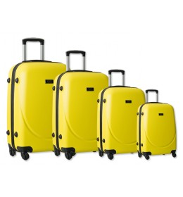 Set 4 ABS kofera Sanremo žuta