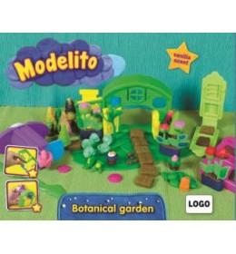 Plastelin Modelito set bašta