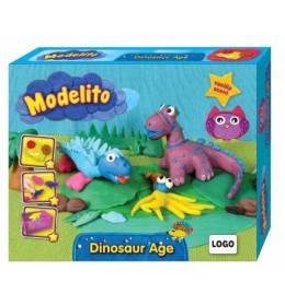 Plastelin Modelito set dinosaurusi