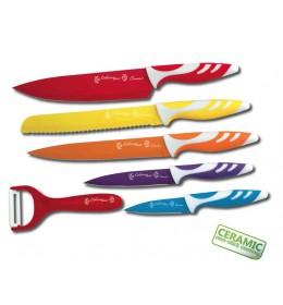Set keramičkih noževa 5 kom. CL-12 COLOSSUS LINE