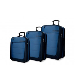 Set kofera 3/1 Movom Detroid  Blue 53.394.62