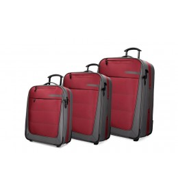 Set kofera 3/1 Movom Detroid Red 53.394.63