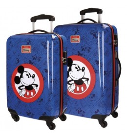 Set kofera ABS 55cm i 68cm Hello Mickey Blue 30.319.63