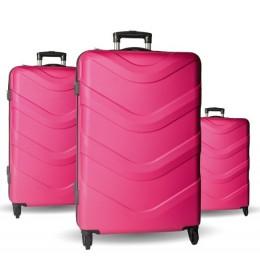 Set kofera 3/1 Sazio Rome pink