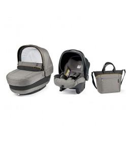 Set nosiljka, autosedište i torba Modular Elite Grey