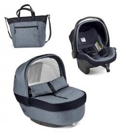 Set nosiljka, autosedište i torba Modular Elite Horizont