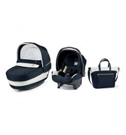 Set nosiljka, autosedište i torba Modular Elite Luxe Blue