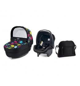 Set nosiljka, autosedište i torba Modular Elite Manri