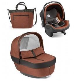 Set nosiljka, autosedište i torba Modular Elite Terraccota