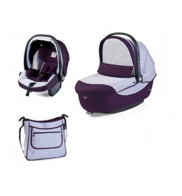 Set nosiljka, autosedište i torba Modular Iris