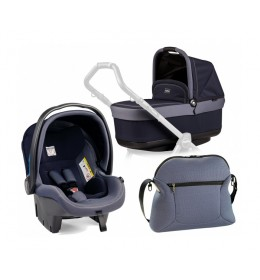 Set nosiljka, autosedište i torba Modular Pop Up Indigo