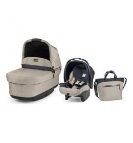 Set nosiljka, autosedište i torba Modular Pop Up Luxe Beige