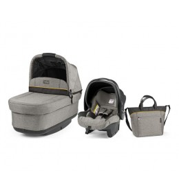 Set nosiljka, autosedište i torba Modular Pop Up Luxe Grey