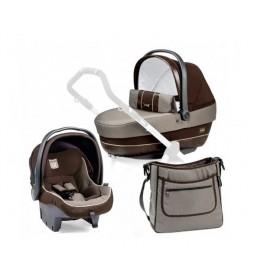 Set nosiljka, autosedište i torba Modular SL Chocolat