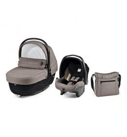 Set nosiljka, autosedište i torba Modular XL Bloom Beige