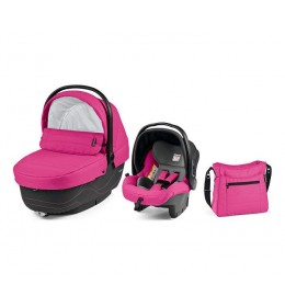 Set nosiljka, autosedište i torba Modular XL Bloom Pink