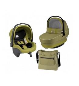 Set nosiljka, autosedište i torba Modular XL Green Tea