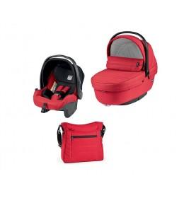 Set nosiljka, autosedište i torba Modular XL Mod Red