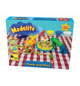 Plastelin Modelito set špagete i pizza