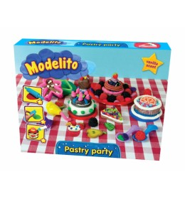 Plastelin Modelito set torta