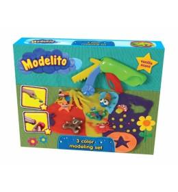 Plastelin Modelito set životinjice