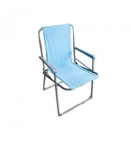 Sklopiva stolica za kampovanje plava