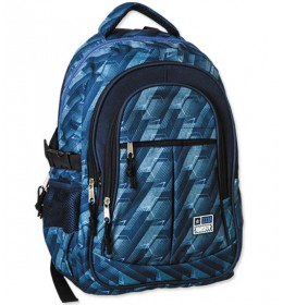 Školski ranac Blue pattern