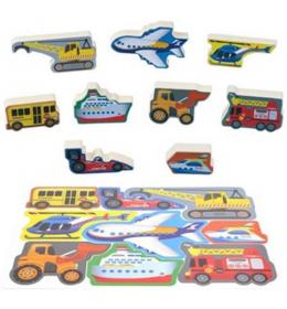 Slagalica puzzle za decu vozila PlayGo