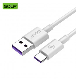 USB data kabl Tip C 1m GOLF GC-42 FAST 5A