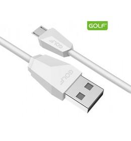 USB kabl na mikro usb 1.5m GOLF GC-27M beli