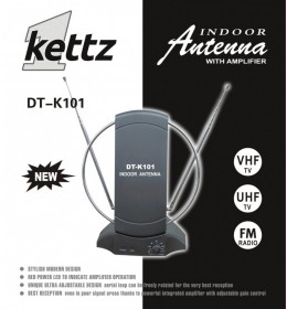 Sobna TV/FM antena Kettz DT-K101 + pojačivač