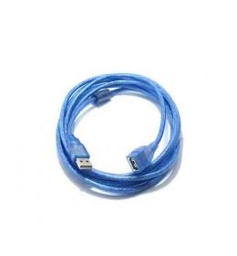 USB kabl produžni A/F 2.0 3m plavi