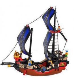 Sluban kocke piratski brod plavi