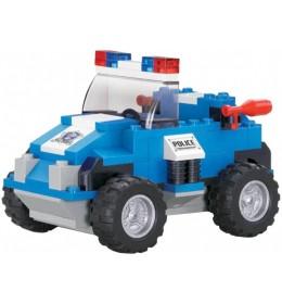 Sluban kocke policijski autić 121 kom