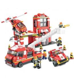 Sluban kocke vatrogasni spasilački tim