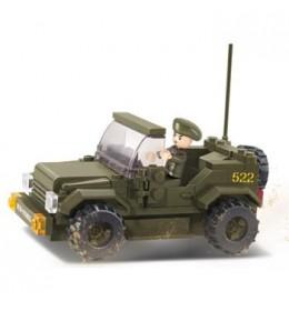 Sluban kocke Vojni auto 121 kom