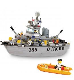Sluban kocke vojni brod