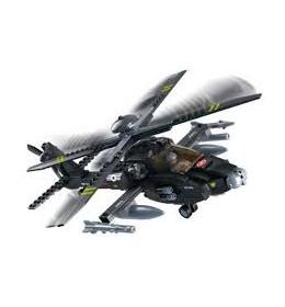 Sluban kocke Vojni helikopter sa raketama 293 kom