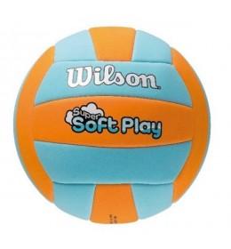 Lopta za odbojku Soft Play Orange/Blu WTH3508XB