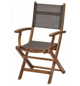 Baštenska stolica sklopiva Dark