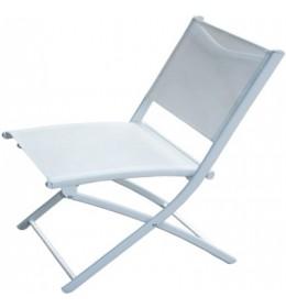 Stolica za baštu bela