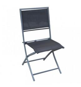 Stolica za baštu Lipari crna